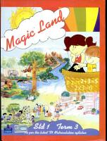 Magic Land  Std  1  Term 3  Magic Land  TN Matriculation   PDF