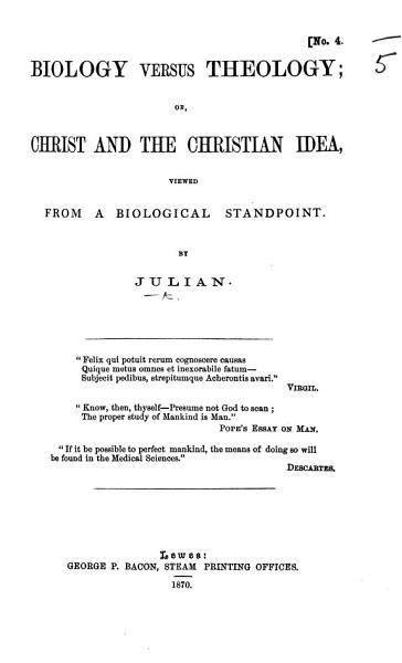 Biology Versus Theology