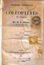 Histoire naturelle des coléoptères de France: Volume1