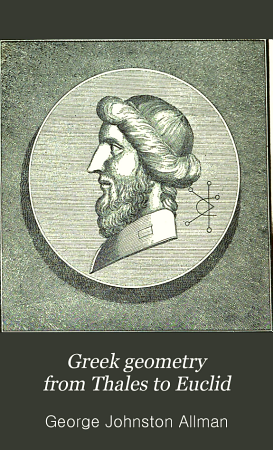 Greek Geometry from Thales to Euclid PDF