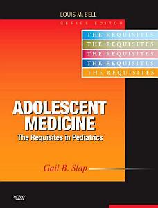 Adolescent Medicine E Book