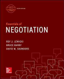Essentials of Negotiation with Connect Access Card PDF