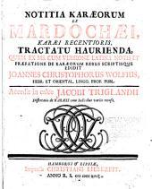 Notitia Karaeorum
