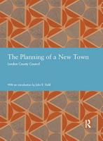 The Planning of a New Town PDF