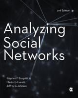 Analyzing Social Networks PDF