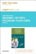 Netter's Physiology Flash Cards- Pageburst E-book on Kno