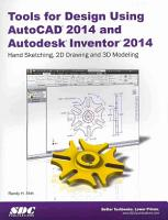 Tools for Design Using Autocad 2014 and Autodesk Inventor 2014 PDF