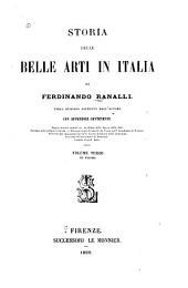 Storia delle belle arti in Italia: Volume 3
