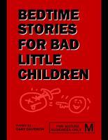 Bedtime Stories for Bad Little Children PDF