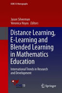 Distance Learning E Learning And Blended Learning In Mathematics Education Book PDF