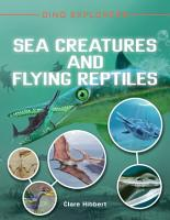 Sea Creatures and Flying Reptiles PDF