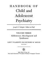 Handbook of Child and Adolescent Psychiatry  Adolescence PDF