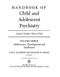 Handbook of Child and Adolescent Psychiatry  Adolescence PDF