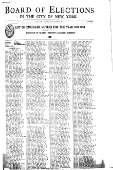 List of Enrolled Voters     PDF