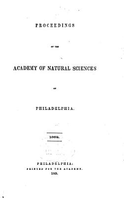 Proceedings of the Academy of Natural Sciences of Philadelphia PDF