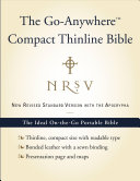 NRSV Go Anywhere Compact Thinline Bible with the Apocrypha  Bonded Leather  Navy