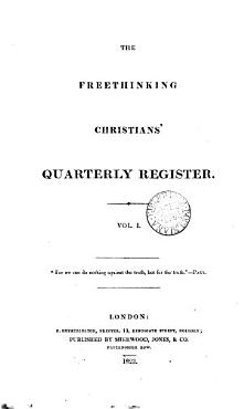 The Freethinking Christians  quarterly register PDF