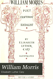 William Morris: poet, craftsman, socialist