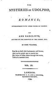 The Mysteries of Udolpho: A Romance