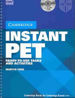 Instant PET Book and Audio CD Pack