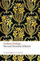 The Last Chronicle of Barset PDF