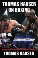 Thomas Hauser on Boxing PDF