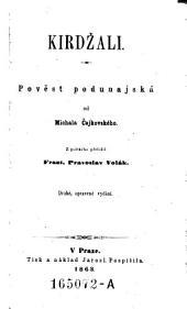 Kirdzali ; Povest podunajska