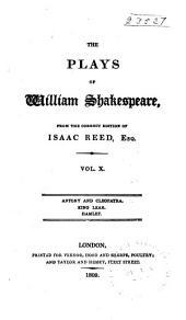 Antony and Cleopatra. King Lear. Hamlet