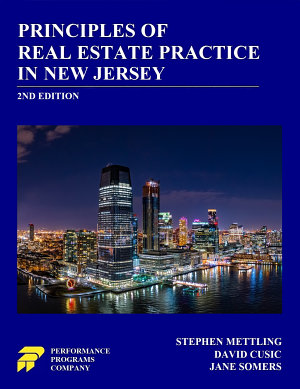 Principles of Real Estate Practice in New Jersey  2nd Edition
