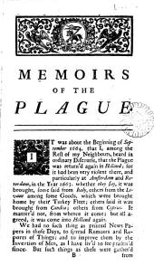 A journal of the plague year [signed H.F.].