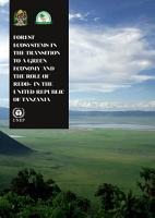 Forest Ecosystems in the Transition to a Green Economy and the Role of REDD  in the United Republic of Tanzania PDF