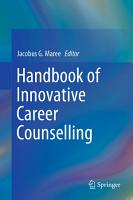 Handbook of Innovative Career Counselling PDF