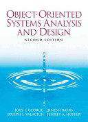 Object oriented Systems Analysis and Design PDF