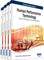 Human Performance Technology  Concepts  Methodologies  Tools  and Applications PDF
