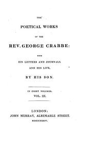 The poetical works with his letters and journals, and his life,
