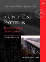 xUnit Test Patterns PDF
