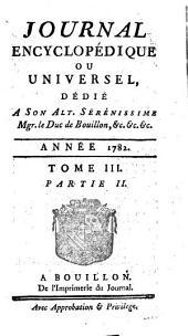 Journal encyclopedique ou Universel: Volume3,Partie2