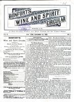 Bonfort s Wine and Spirit Circular PDF