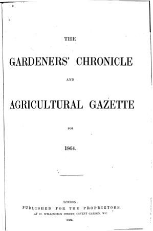 The Gardeners  Chronicle PDF