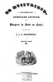 De huisvriend: gemengde lectuur voor burgers in stad en land, Volume 10