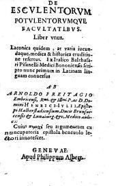 De esculentorum potulentorumque facultatibus: liber unus