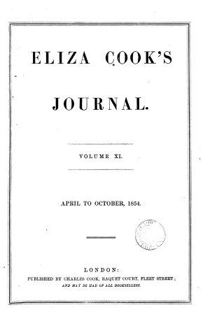 Eliza Cook s journal PDF