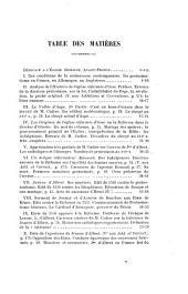Le protestantisme en Béarn et au pays basque, ou Observations critiques sur l'Histoire de l'église réformée d'Osse de M. le pasteur A. Cadier