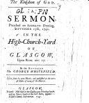The Kingdom of God  A Sermon     Upon Rom  Xiv  17