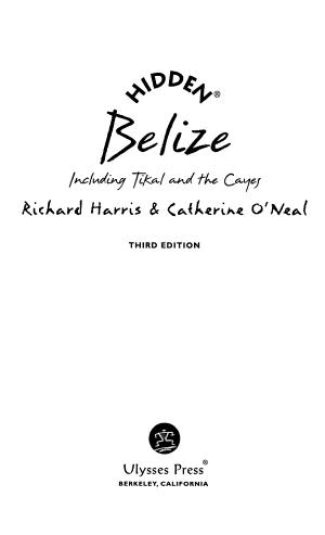 Hidden Belize PDF
