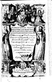Floriacensis vetus bibliotheca benedictina, sancta, apostolica, pontificia, caesarea, regia, franco-gallica...cum utroque xysto...opera Joannis a Bosco,... nunc primum e latebris emersa...