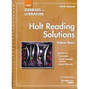 Elements of Literature  Grade 7 Holt Reading Solutions First Course PDF