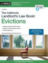 The California Landlord's Law Book: Evictions, Edition 17