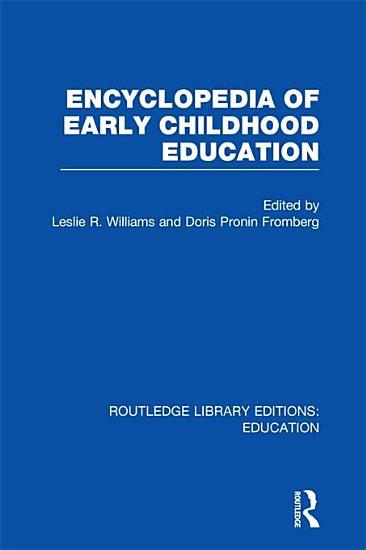 Encyclopedia of Early Childhood Education PDF