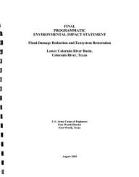 Flood Damage Reduction and Ecosystem Restoration  Lower Colorado River Basin PDF